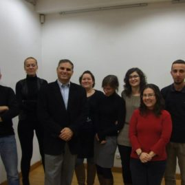 Wykład rabina Aviego Baumola dla grupy Mifgash